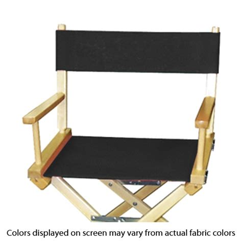 solid color canvas portable director chair tall director