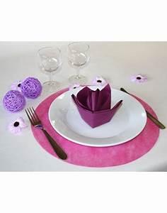 Set De Table Fuschia Dco Table