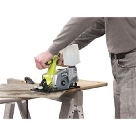 ryobi tile saw cordless workshop atelier on workbenches milling