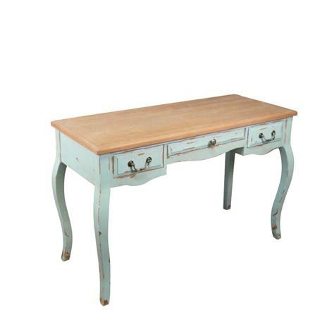 bureau en bois style louis xv meuble shabby