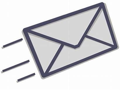 Icon Email Sending Send Transparent Message Via