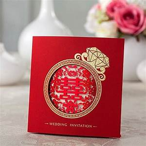 aliexpresscom buy 2015 laser cut golden diamond chinese With laser cut wedding invitations from china