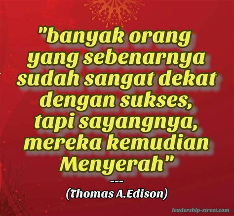 quote inspiratif thomas alfa edison  foto fb hd