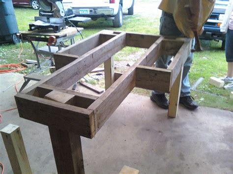shooting bench plans  plans diy