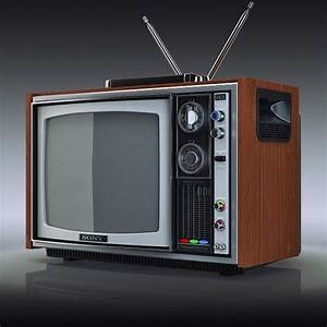 3ds Max Tv Sony Trinitron Kv 1300e