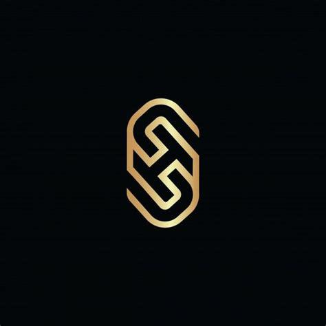 initial letter sh  logo overlap desi premium