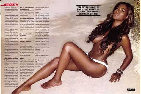 Kenya Moore Nude Sexy Former Miss Usa Takes It All Off