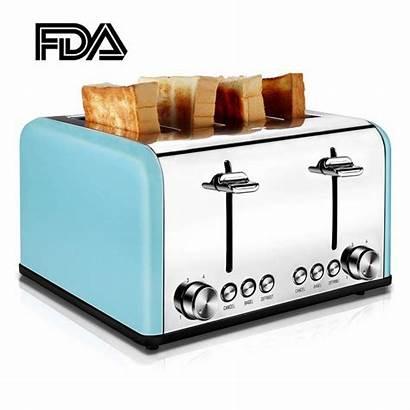 Slice Wide Toaster Toasters Retro Extra Slots