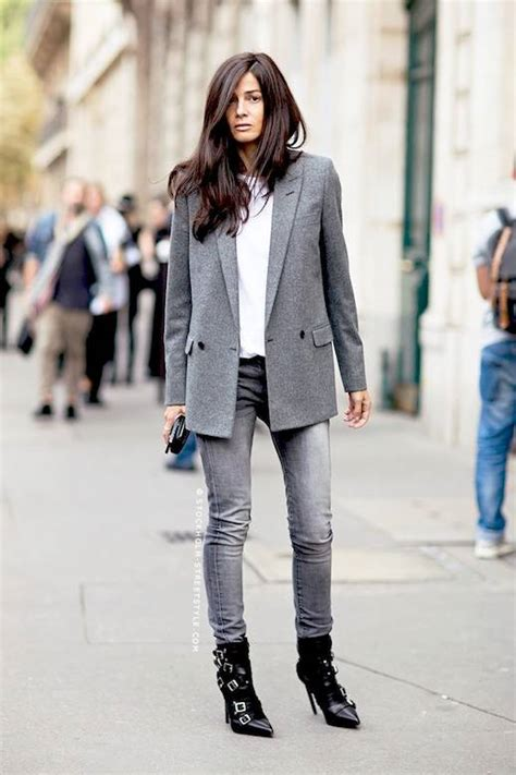 234e98a3708 grey blazer and black boot outfit - Ecosia
