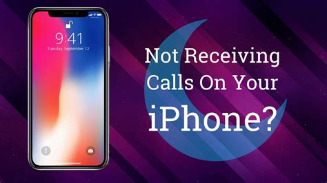 iphone not calls not receiving calls on your iphone