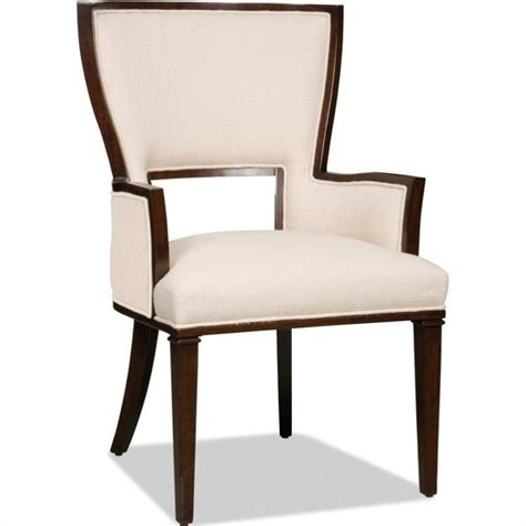 furniture brookhaven fabric arm chair in cherry