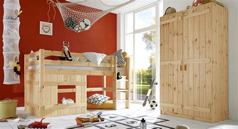 Kinderzimmer Junge Kiefer by Komplett Kinderzimmer Aus Kiefer Massiv Paradise
