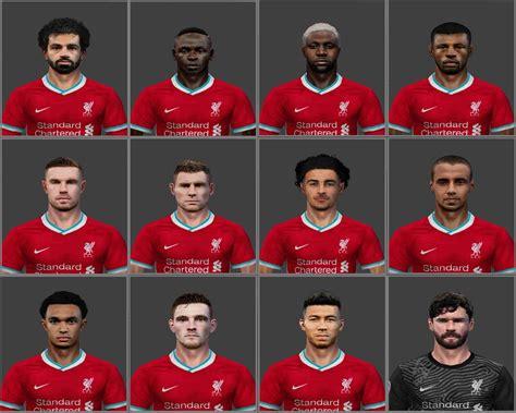 ultigamerz: PES 6 Liverpool 2020-21 Big Face-Pack