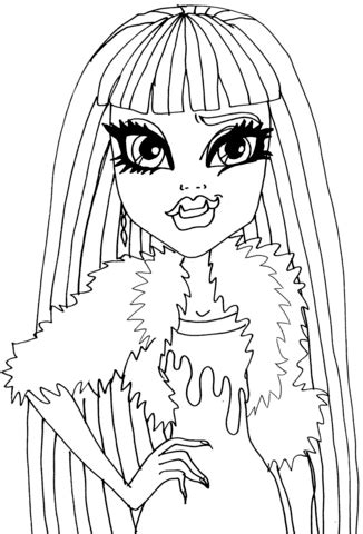 picture day abbey bominable coloring page  printable