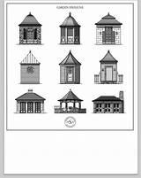 Gazebo Clipart Garden Dreamy Pavilions Buildings Architects Ville Va Designlooter Structures Architecture sketch template