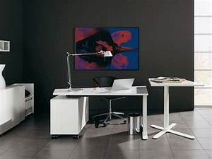 12 stylish contemporary home office ideas minimalist With contemporary office desk for your stylish home office