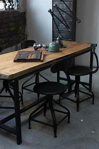 Bureau Style Industriel : pour l 39 amour des meubles industriels frenchy fancy ~ Teatrodelosmanantiales.com Idées de Décoration