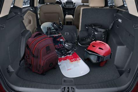 ford escape interior passenger  cargo space
