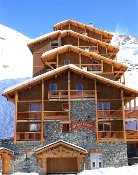 chalet des neiges val thorens chalet neiges plein sud val thorens booking