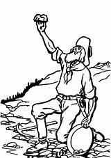 Rush Clip Clipart California Klondike Miner Mining Panner Transparent Coloring Oro Mine Australian Activity Fiebre Svg Openclipart Sheets Goldrausch Vektor sketch template