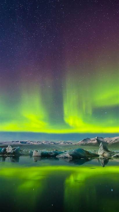 Aurora Borealis 4k Background Mobile Sfondi Smartphone