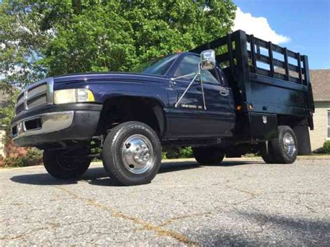 Dodge Ram 3500 5. 9 Magnum Stake Body Bed Lift (1998