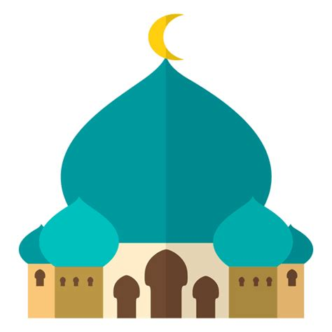 mosque islam flat transparent png svg vector file