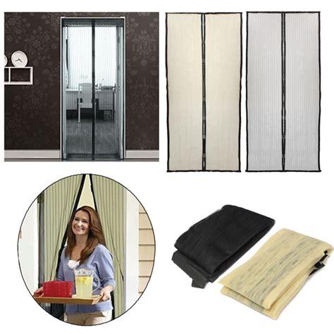 rideau de porte de 210x100cm fermeture automatique porte magn 233 tique 233 cran anti moustique maille