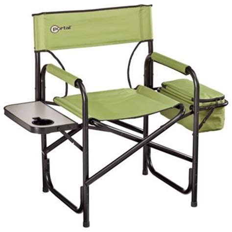 portal directors chair w side table cooler cing tips