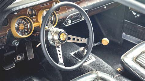 interior steve mcqueens original  ford mustang