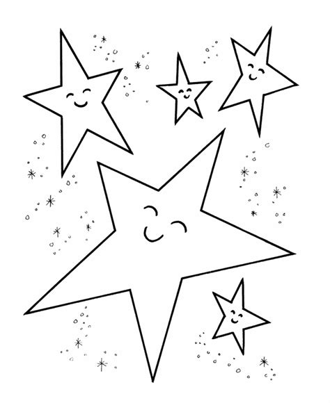 star coloring pages  print coloring home