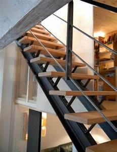 resultat de recherche d39images pour quotescalier ipn With exceptional idee couleur escalier bois 1 yves deneyer menuiserie metallique ferronnerie