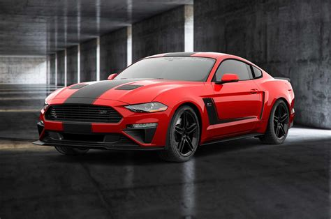 2018 Roush Mustang by 2018 Roush Jackhammer Ford Mustang Is A 710 Hp Pavement