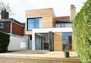 Comment Agrandir Sa Maison : extension maison bois moderne et fonctionnelle ~ Dallasstarsshop.com Idées de Décoration