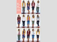12 Pieces, 14 Outfits Fall Packing 2014 Putting Me