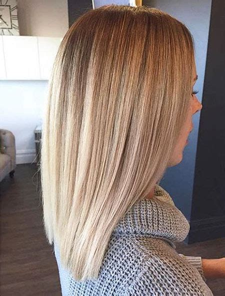 25 Short Straight Blonde Hairstyles 2017 ? 2018   Love
