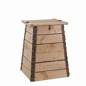 Composteur Pas Cher Bois : composteur bois 150 litres botanic ~ Zukunftsfamilie.com Idées de Décoration