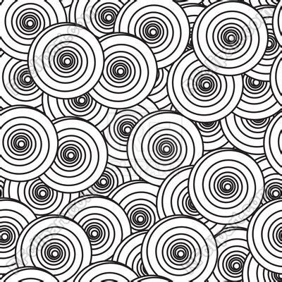 black  white background  spiral circles vector