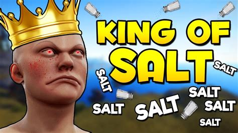 rust salt funny king moments
