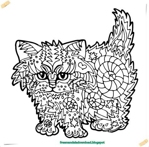 ausmalbilder katzen zum ausdrucken abbild katzen