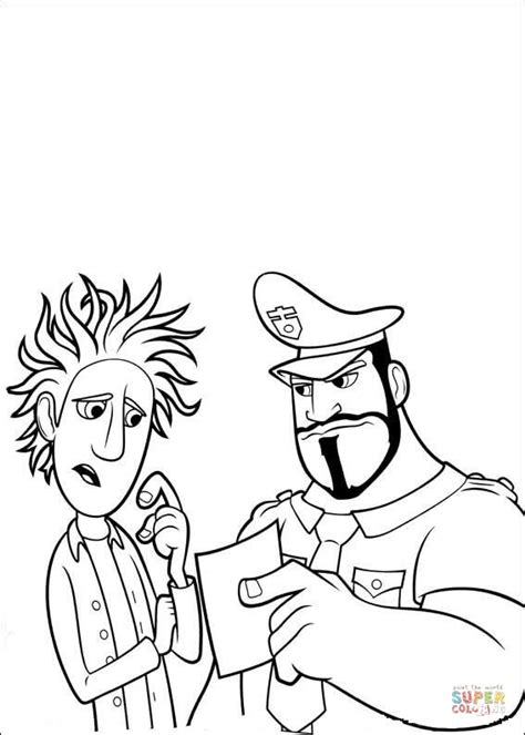 Kleurplaat Chagne by Angry Officer Coloring Page Free Printable Coloring Pages