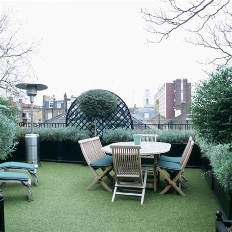 low maintenance roof garden small garden design ideas