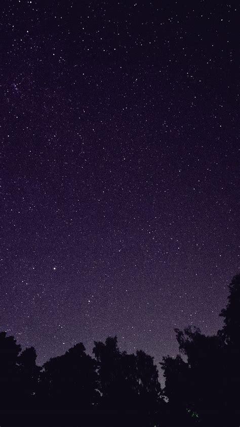 mt starry night sky star galaxy space dark purple wallpaper