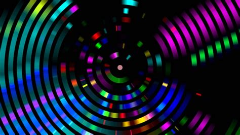 Cool Hd Image by 4k Disco Hypnotic Light Centerd Vj Loop Disco Effect