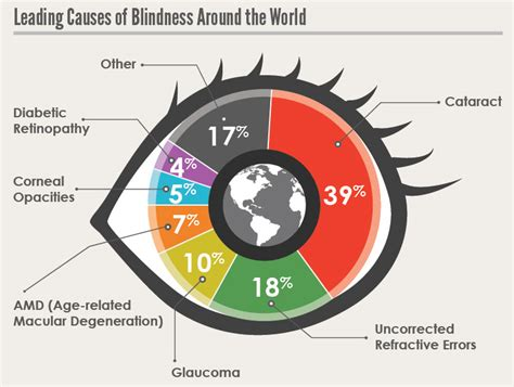 what causes blindness lack of access to eye care services leading to avoidable