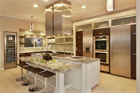 master open plan kitchen design open room archives home