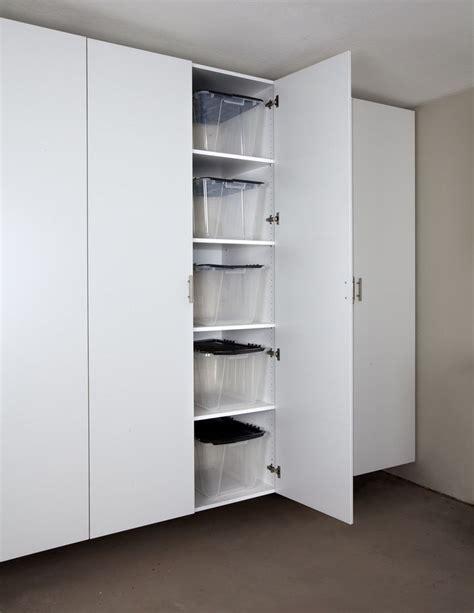 White Storage Cabinets For Garage by 25 Best Ideas About Garage Cabinets On Garage