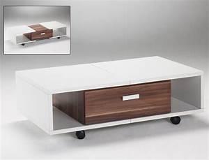 Tisch Ausziehbar Weiß : couchtisch immo 105 bis 132x33x62 tisch ausziehbar wei nussbaum wohnbereiche wohnzimmer couch ~ Whattoseeinmadrid.com Haus und Dekorationen