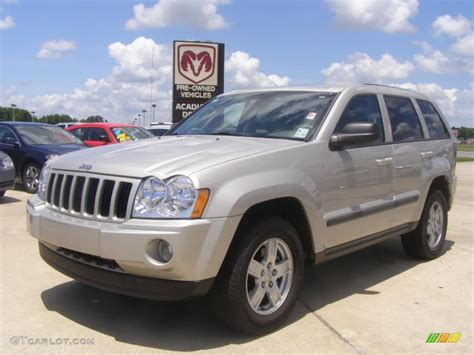 jeep laredo 2007 2007 light graystone pearl jeep grand cherokee laredo