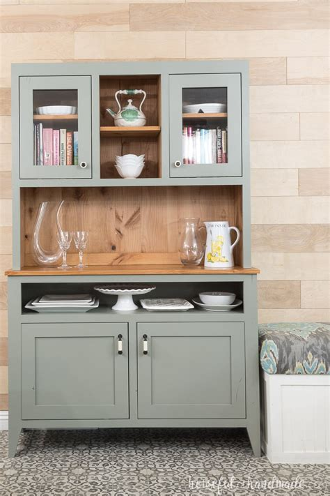 dining room hutch build plans houseful  handmade
